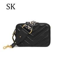 цена на SK Brands Small Women Shoulder Bags Genuine Leather Handbags Fashion Bags Ladies Luxury Messenge Bags 2019 Female Crossbody Bag