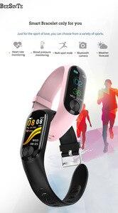 Image 3 - Smart armband wasserdichte wärme rate monitor blutdruck für Fitness Tracker unterstützung multi sport modus für Andriod smart band