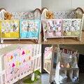 Bolso Del Bebé colgando cama Cuna Cama Organizador Colgante De Almacenamiento bolsa de Juguete Organizador de Bolsillo Del Pañal de ropa de Cama Cuna Cuna del Recién Nacido conjunto