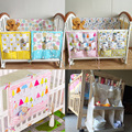 Saco do bebê cama de Bebê pendurado Berço Cama Organizador De Armazenamento De Suspensão saco do Brinquedo Newborn Crib Organizador Fralda de Bolso para Berço Cama conjunto