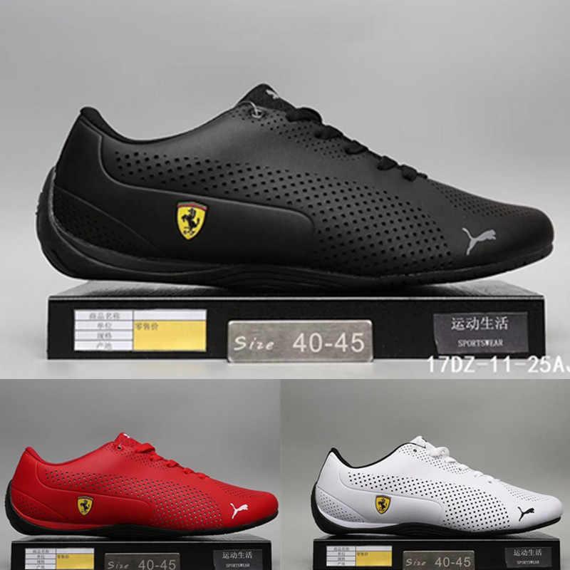 28e670bd2be 2019 New Arrival Puma Men s Shoes Lightweight Sports Shoes Ferra-ri Drift  Cat 5 Racing