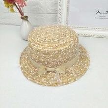 Moda verano Señora Dulce punto de la onda paja sombreros sombrero de Sol  Turismo al aire libre lindo casquillo hembra protector . 36310d1215c