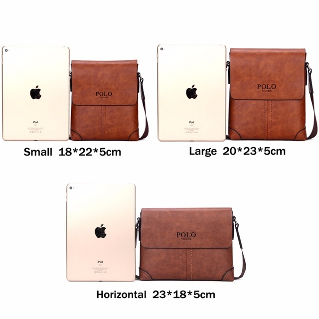 Unique Thread Design Mens Frosted PU Leather Messenger Bag Small Leisure Mens Bag Promotional Men Shoulder Bag 2