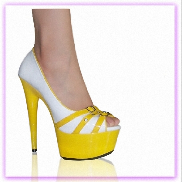 Elegant Color Matching Sexy Open Toe Sandals Sexy Temptation 15cm High-Heeled Shoes Sexy Dance Shoes 6 Inch Platform Heels sexy temptation to 18 centimeters nightclub high heeled shoes catwalk show reception appeal colourful shoes dance shoes