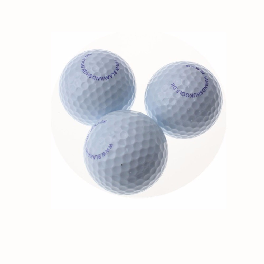 oem print logo two layer golf match ball two piece. Black Bedroom Furniture Sets. Home Design Ideas