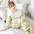 Nursing Pajamas Homen Clothes Maternity For Pregnant Women 2016 Pigiama Maternity Pajamas For Nursing Mothers Cotton 70M002