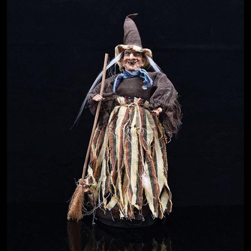60 cm grande Halloween sorcière décoration accessoires ornements jouets pour halloween fête KTV bar danse scène décoration et centre commercial affichage