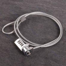 4 Digit Security Password Computer Lock Anti-theft Chain For Notebook PC Laptop Brand New High Quality Metal(China)