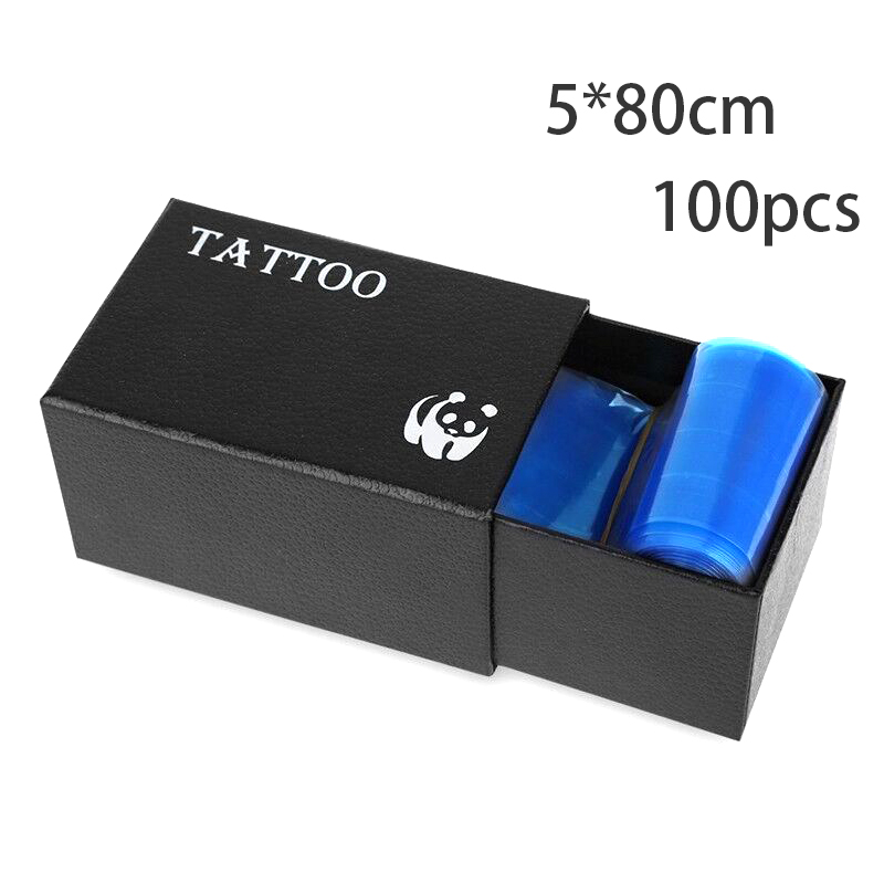 100pcs Blue Tattoo Clip Cord Bag Tattoo Machine Disposable Supplies Covers Bags Professional Tattoo Accessory Permanent Makeup