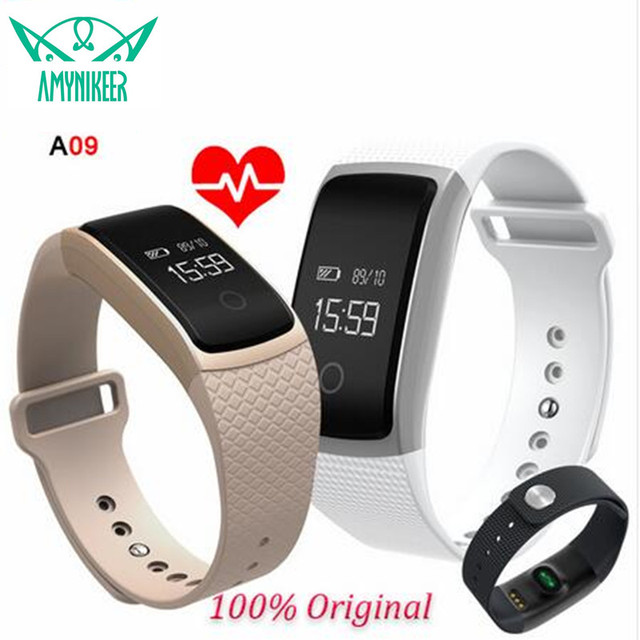 Newest Touch Screen A09 Smart Watch Bracelet Band Blood Pressure Heart Rate Monitor Pedometer Fitness