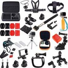 Para GoPro Acessórios 36 Em 1 Família Kit Para Go pro Acessórios definido para sjcam pacote de acessórios para gopro hd hero 4 3 + 3