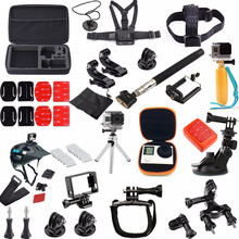 For GoPro Accessories 36 In 1 Family Kit For Go pro Accessories Set For SJCAM Accessories Package For GoPro HD Hero 4 3+ 3