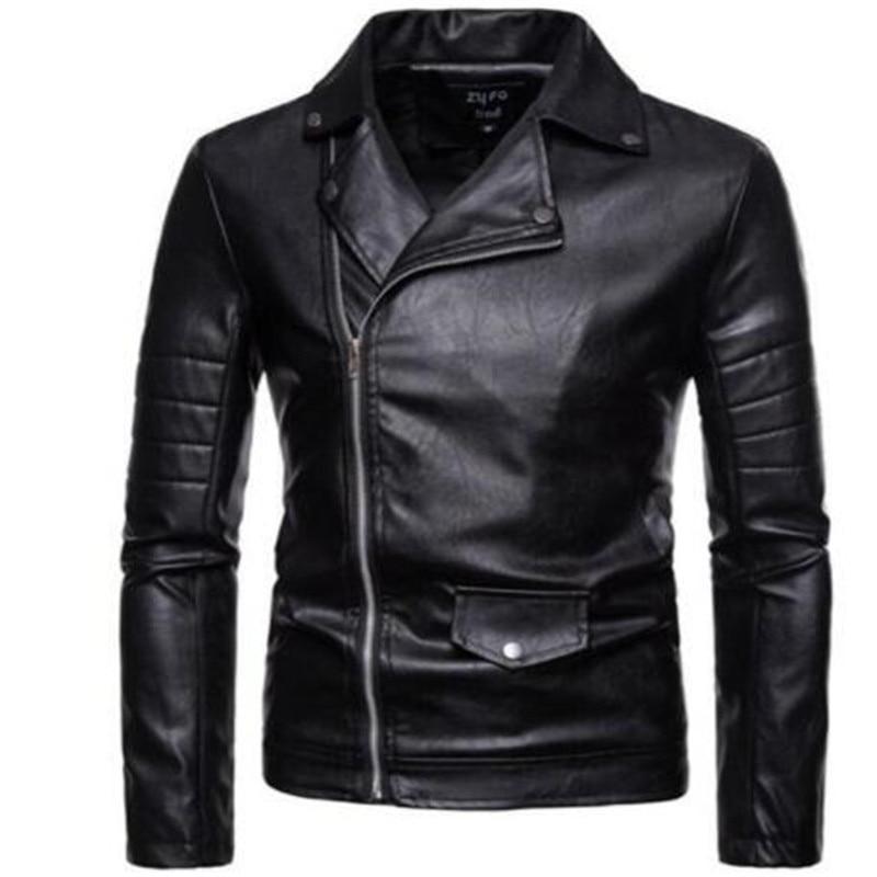Coats Jacket Genuine-Leather Clothing Motorcycle Winter Warm Slim Hip-Hop Waterproof