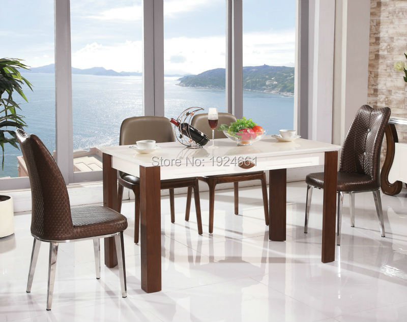 5pcs/set Modern Japanese Style Dining Table and Chair Asian Floor ...