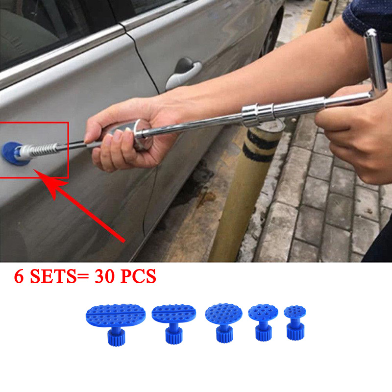 30X Auto Body Dent Removal Pulling Tabs Paintless Repair Tools Glue Puller Kits-in Sheet Metal Tools Set from Automobiles & Motorcycles