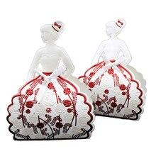 Pudełeczko dla gości weselnych różowe – 25 sztuk