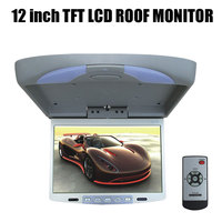 12 inch TFT LCD Roof Monitor Overhead Player