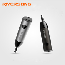 RiverSong Mini Music Receiver 3.5mm Jack AUX Audio Adapter Bluetooth 4.1 Audio Transmitter Receiver Car Kit Handsfree with Mic