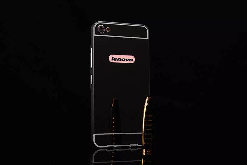 For Lenovo S60 S60t S60-t S60-w Fashion Plating Mirror Aluminum Metal Bumper + Acrylic Alloy Plastic Back Phone Cases Cover Capa