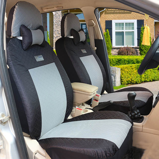 (Front + Rear) Universal car seat covers For Skoda Octavia Fabia Superb Rapid Yeti Spaceback Joyste Jeti auto accessories