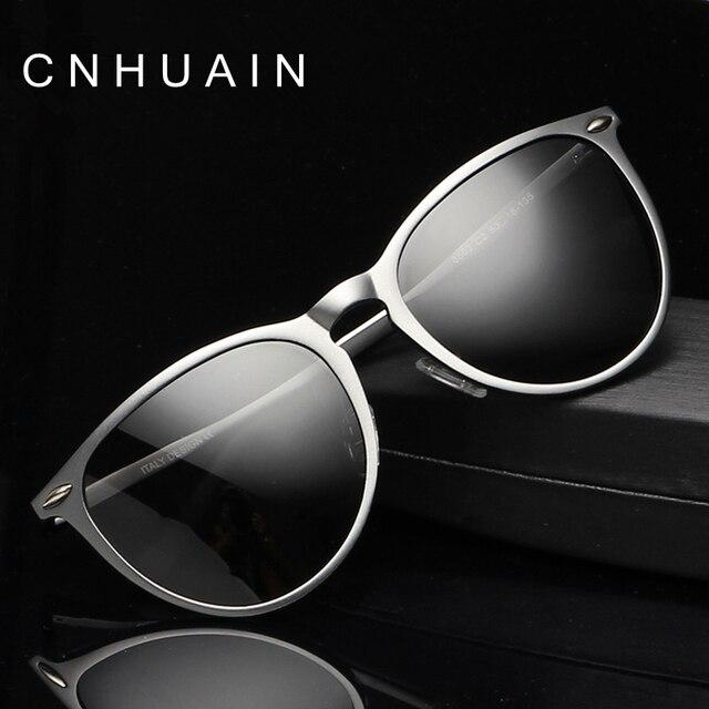grade mens sunglasses brand designer Luxury aviator Polarized sun glasses for men vintage metal frame driving mirror male oculos