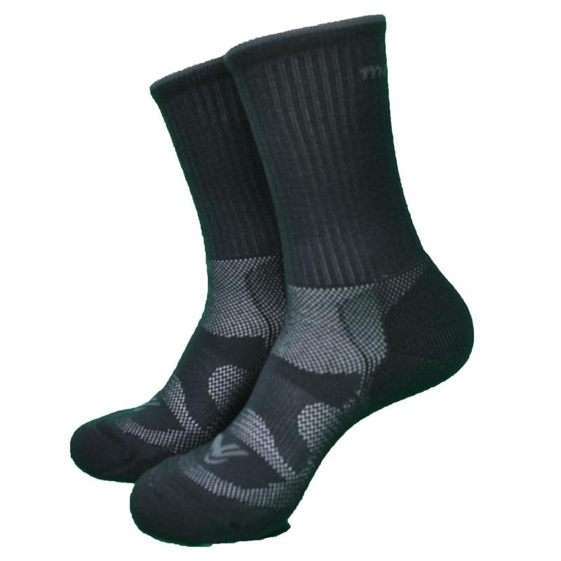 Носки мужские из 74% мериносовой шерсти, 2 цвета, 1 пара