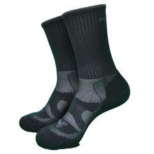 1 par de alta qualidade nova zelândia 74% lã merino grossas meias trekking masculino 2 cores tripulação meias