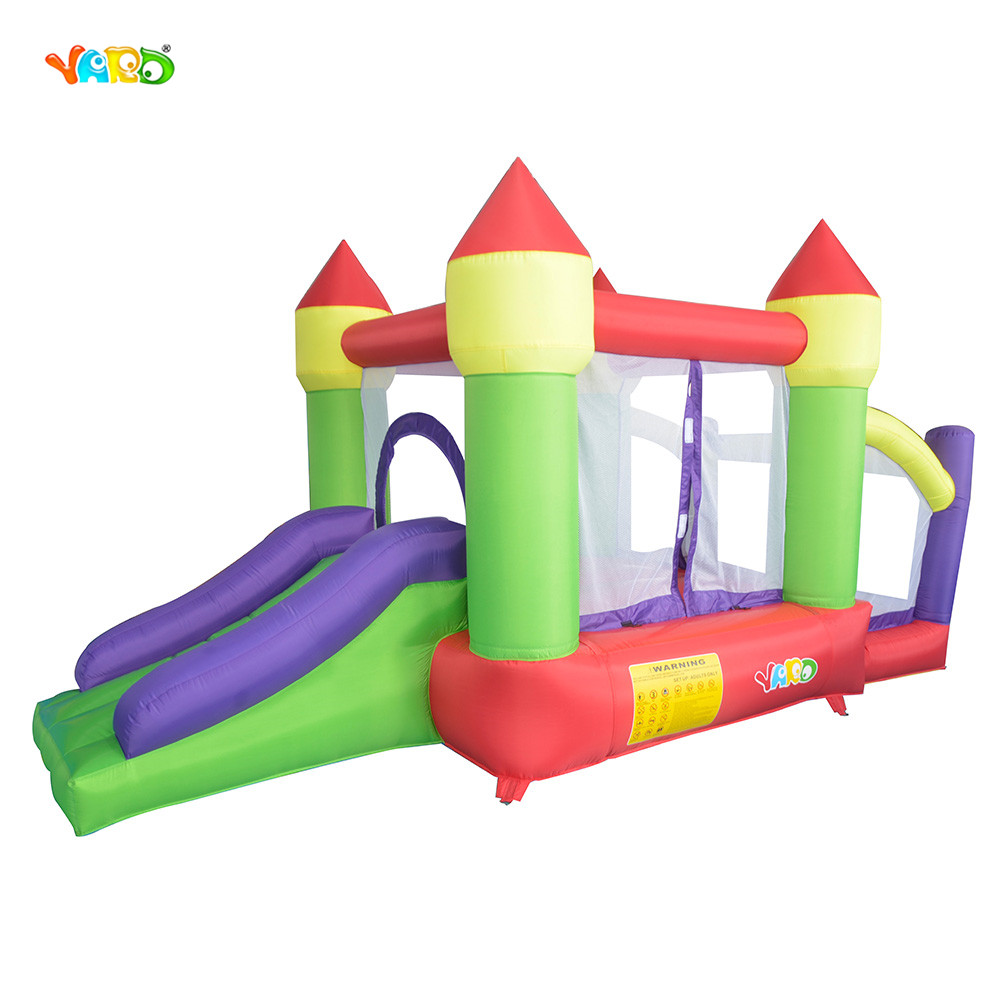 YARD Hot Selling Nylon and PVC Children Inflatable Trampoline Inflatable Bouncy Castle Bounce House with Balls Pit yard inflatable slide for sale bounce house children inflatable trampoline toys jumpling castle bouncy castle pula pula
