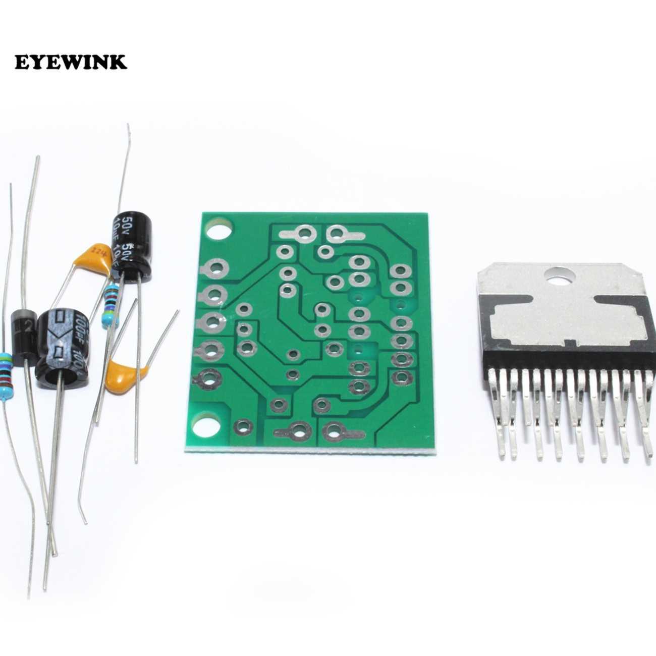 1pcs TDA7297 carte amplificateur pièces de rechange dc 12v grade 2.0 double encodage audio 15w kit de bricolage électronique