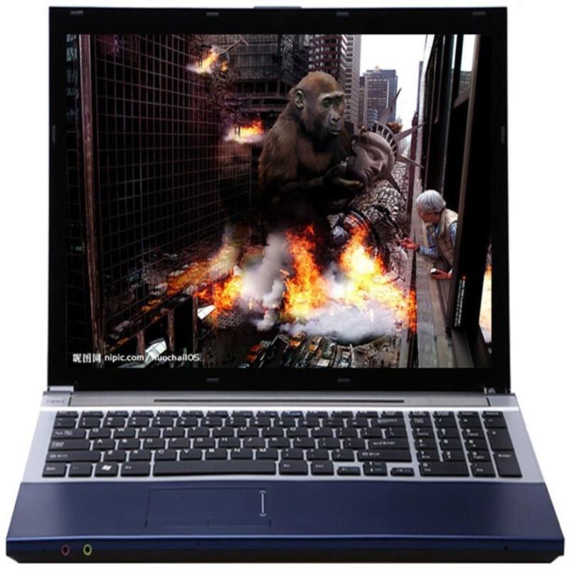 15.6inch LED HD Intel Core I7 CPU 8GB RAM 480GB SSD Built-in Bluetooth WIFI 4000MAh High Battery Capacity