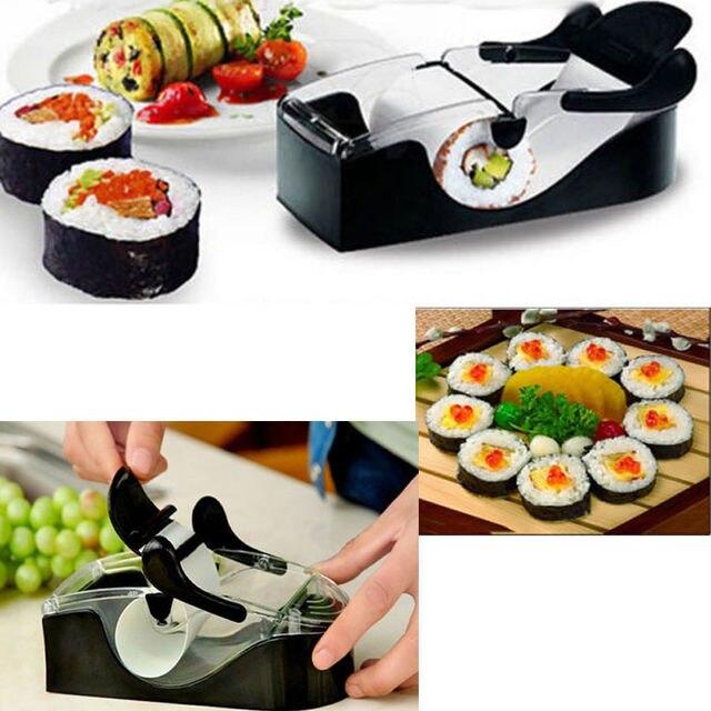 Nuevo prefecto DIY fácil sushi equipo roller hacedor/rollo perfecto ...