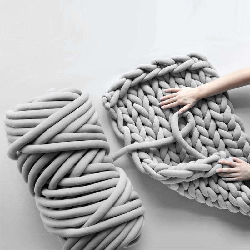 25m Cored cotton yarn washing machine themed goods pro reptiles and amphibians DIY handmade Knitting Yarn blanket Pet nest HY
