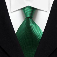 T12 Green Plaid Geometric Dot New Classic Silk Woven Neck Tie Business Casual Knitted Mens Ties Neckties 2016
