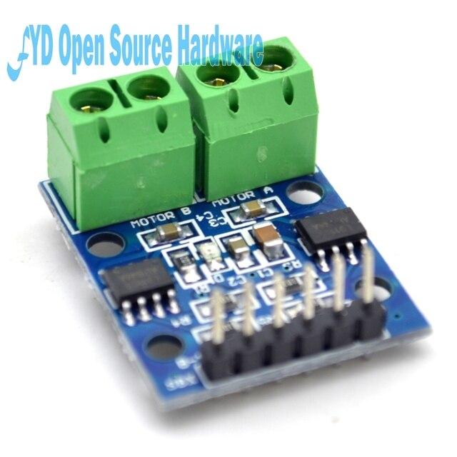1pcs L9110S H-bridge Stepper Motor Dual DC Stepper Motor Driver Controller Board Module L9110S L9110 For Arduino