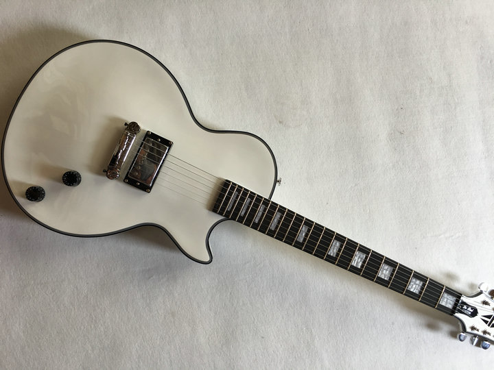 Best Price Wholesale new lp Custom Shop white Electric Guitar one p90 pickup China lp Guitar Factory Free Shipping made in china the best variety of lp electric guitar can be customized ems free shipping and solve any problems