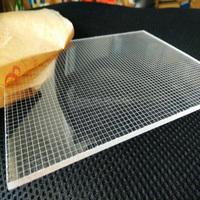 5mm Single Sided High Quality Acrylic Laser Engraving LED Light Guide Panel Backlight LGP For Led