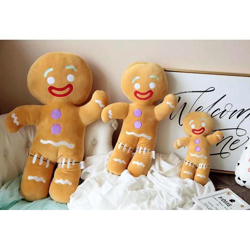 Kawaii Gingerbread Man Plush Toy Christmas 1