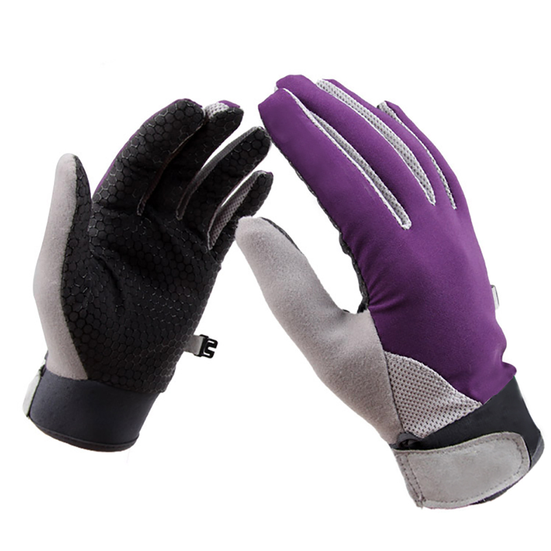 Full Finger Cycling font b Gloves b font Anti slip Road Mountain MTB Breathable Bike Bicycle