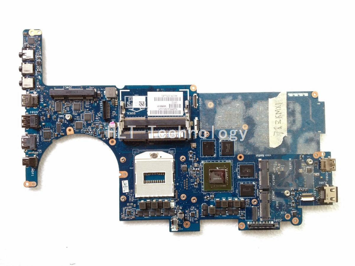 SHELI laptop Motherboard For DELL M14X R3 CN-02KVD5 02KVD5 VAR00 LA-9201P non-integrated graphics card 100% fully tested