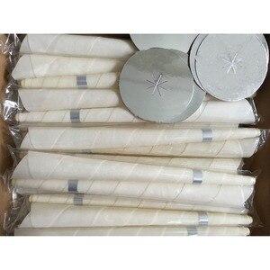 Image 3 - 42 pairs = 1lot CE qualifizierte rauch freies natürliche bienenwachs ohr kerzen ohr wachsen kegel ohne pestizid rückstände für ohrkerzen