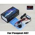 For Peugeot 407 2D coupe / 4D Sedan / Anti Collision Rear-end Car Laser Fog Lamp / 12V LED Auto Accessories Brake Parking Lights