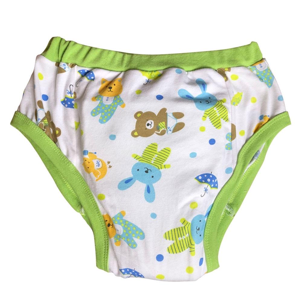 Green Bear Daytime Discreet Adult Baby Training Diaper