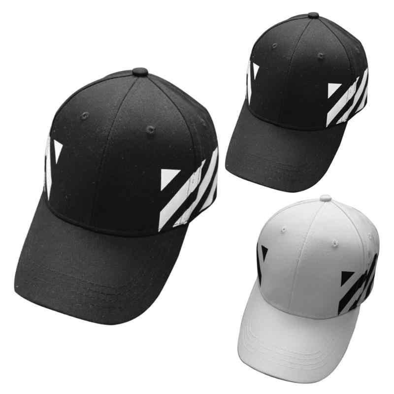 ... Fresco rayas diseño Unisex Snapback casquillo del camionero negro 2018  primavera otoño mujeres hombres ajustable béisbol Hip Hop sombreros del  Snapback ... c049d743e02