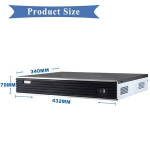 Image 4 - Akıllı Max 4K çıkış 32CH 4MP 24CH 5MP CCTV NVR H.265 Onvif ağ Video kaydedici HI3526 işlemci 4 SATA CCTV NVR sistemi
