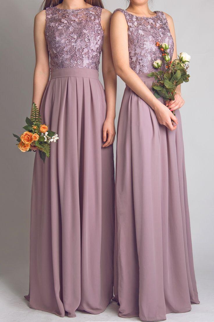 9ff38f2da99 Cheap Chiffon Burgundy Mismatched Bridesmaid Dresses Maxi Dress