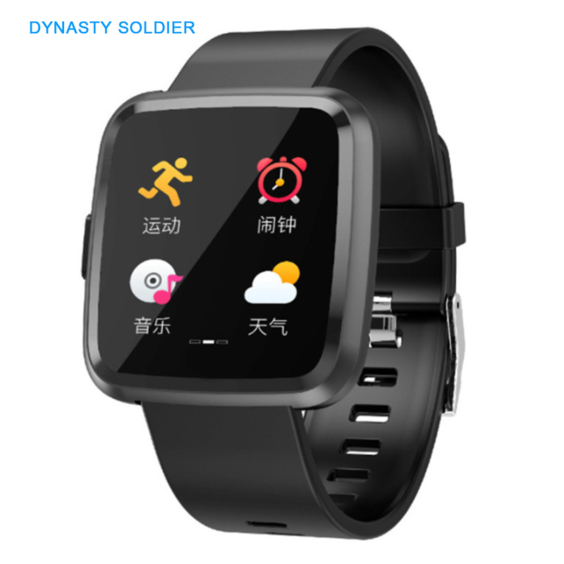 New Smart Watch Fitness Bracelet Touch Color Screen Heart Rate Blood Pressure Tracker Smart Wristband Clock Support IOS AndroidNew Smart Watch Fitness Bracelet Touch Color Screen Heart Rate Blood Pressure Tracker Smart Wristband Clock Support IOS Android