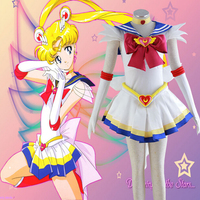 Sailor Moon Cosplay Costume From Sailor Moon Super S