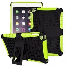 Heavy Duty Armor Para Coque iPad mini 4 PC y TPU caso de la Cubierta Protectora Del Soporte para el ipad mini 4 A Prueba de Golpes cubierta