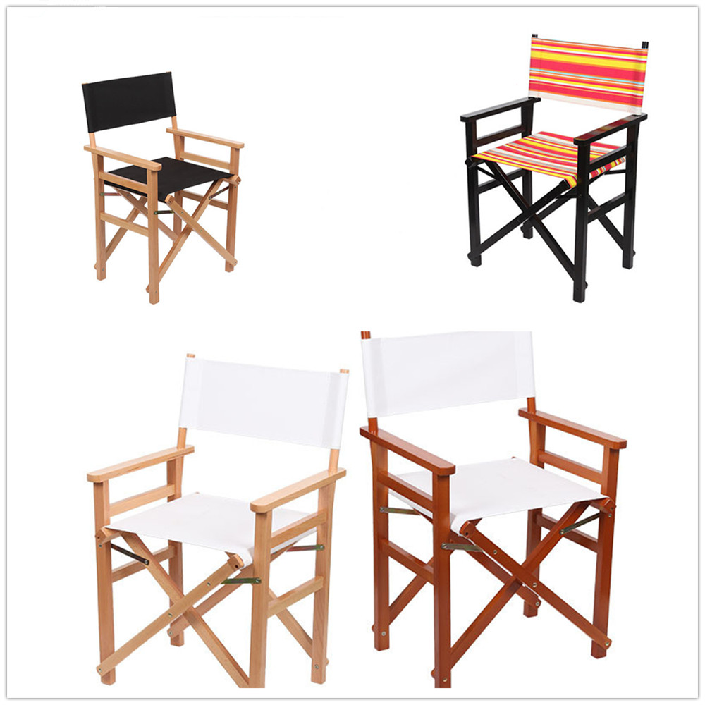 12pc New Canvas Seat Cover Replacement For Directors Chairs Outdoor