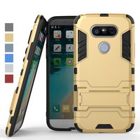 Hard Armor 2 In 1 Anti Knock Phone Case Hybrid PC TPU Back Cover Case For